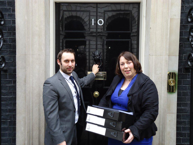 Jessica Lee at Downing Street
