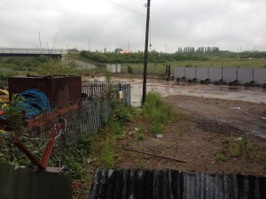 ilkeston-railway-station-site-development-june-2015-coronation-road-beneath-bridge