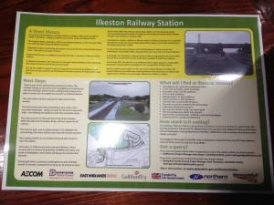 Ilkeston Station Information Leaflet