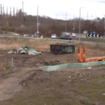 Galliford Try Engineers on Ilkeston Railway Station Building Site