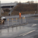 Ilkeston station east car park complete