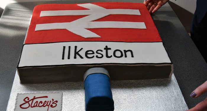 Ilkeston Railway Station cake